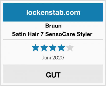 Braun Satin Hair 7 SensoCare Styler  Test
