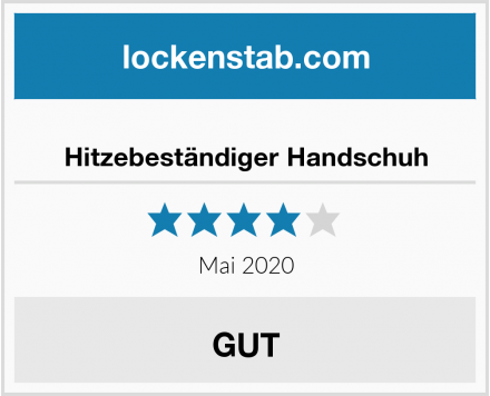 No Name Hitzebeständiger Handschuh Test