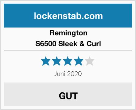 Remington S6500 Sleek & Curl Test