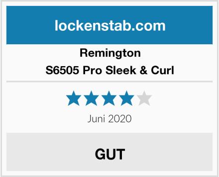 Remington S6505 Pro Sleek & Curl Test