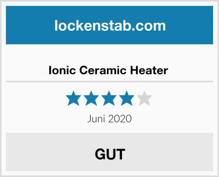 Ionic Ceramic Heater  Test