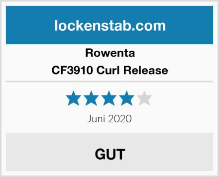 Rowenta CF3910 Curl Release Test