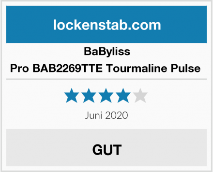 BaByliss Pro BAB2269TTE Tourmaline Pulse  Test