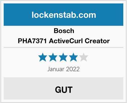 Bosch PHA7371 ActiveCurl Creator Test