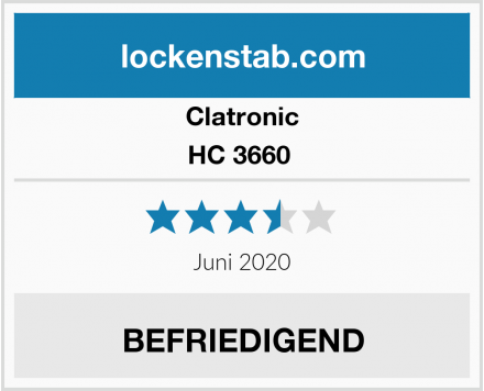 Clatronic HC 3660  Test