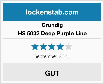 Grundig HS 5032 Deep Purple Line Test