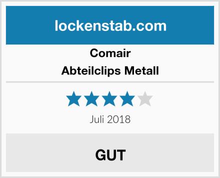 Comair Abteilclips Metall Test