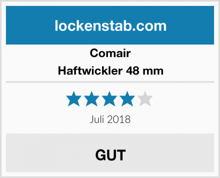 Comair Haftwickler 48 mm Test