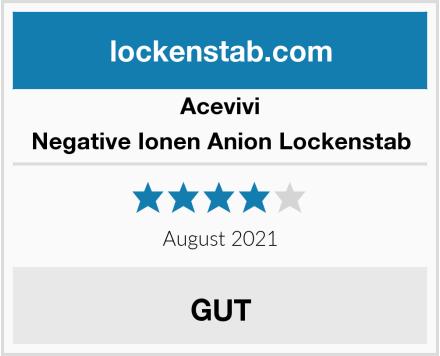Acevivi Negative Ionen Anion Lockenstab Test