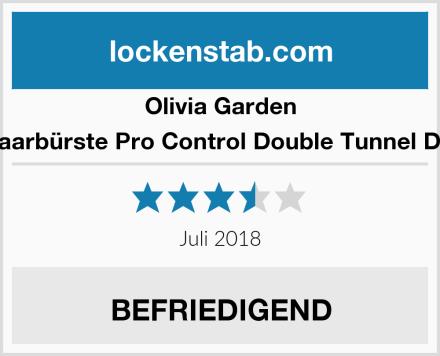 Olivia Garden Haarbürste Pro Control Double Tunnel DT  Test