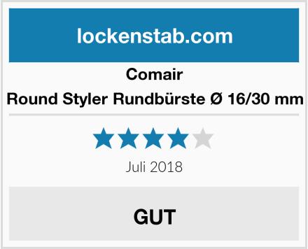 Comair Round Styler Rundbürste Ø 16/30 mm Test