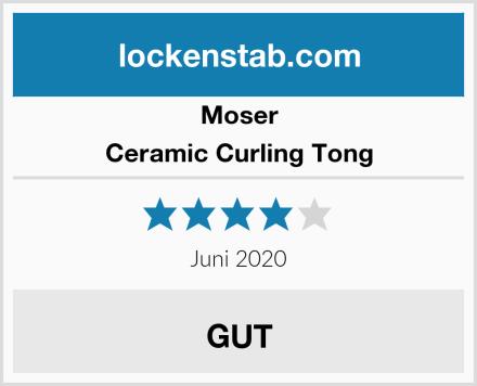 Moser Ceramic Curling Tong Test
