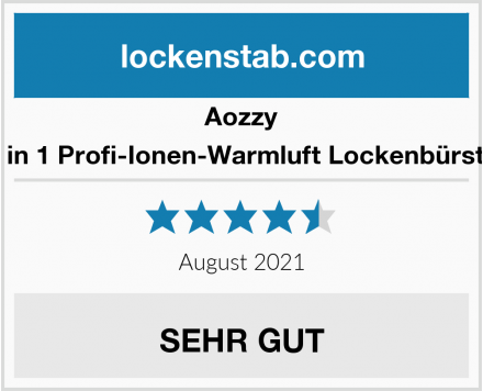 Aozzy 7 in 1 Profi-Ionen-Warmluft Lockenbürste Test