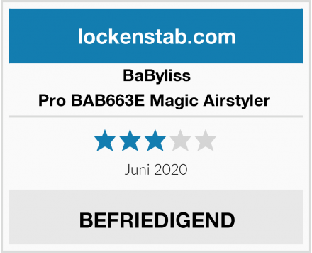 BaByliss Pro BAB663E Magic Airstyler  Test