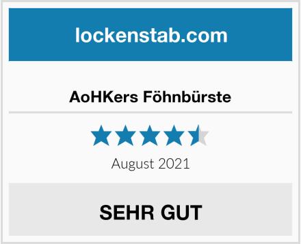 AoHKers Föhnbürste Test