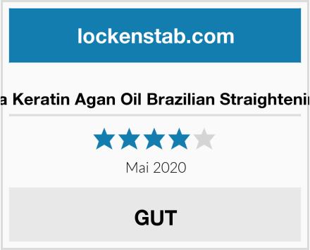 No Name Kativa Keratin Agan Oil Brazilian Straightening Kit Test