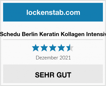 Dr. Schedu Berlin Keratin Kollagen Intensivkur Test