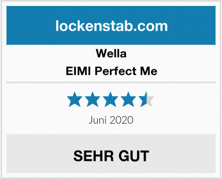 Wella EIMI Perfect Me Test
