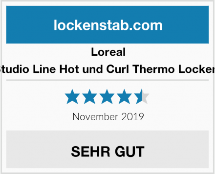 Loreal Paris Studio Line Hot und Curl Thermo Locken Spray Test