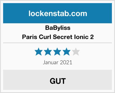 BaByliss Paris Curl Secret Ionic 2 Test