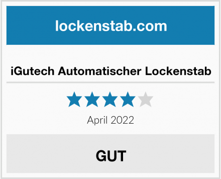 iGutech Automatischer Lockenstab Test