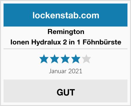 Remington Ionen Hydralux 2 in 1 Föhnbürste Test