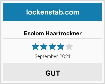 Esolom Haartrockner Test