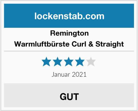 Remington Warmluftbürste Curl & Straight Test