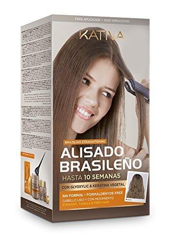 No Name Kativa Keratin Agan Oil Brazilian Straightening Kit