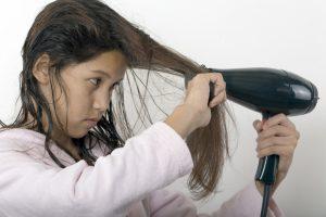 Haare richtig trocknen