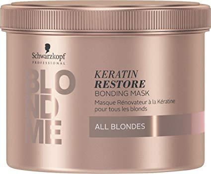 Schwarzkopf BlondMe Keratin Restore Mask